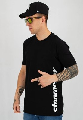 T-shirt Stoprocent Slim Vertcut czarny