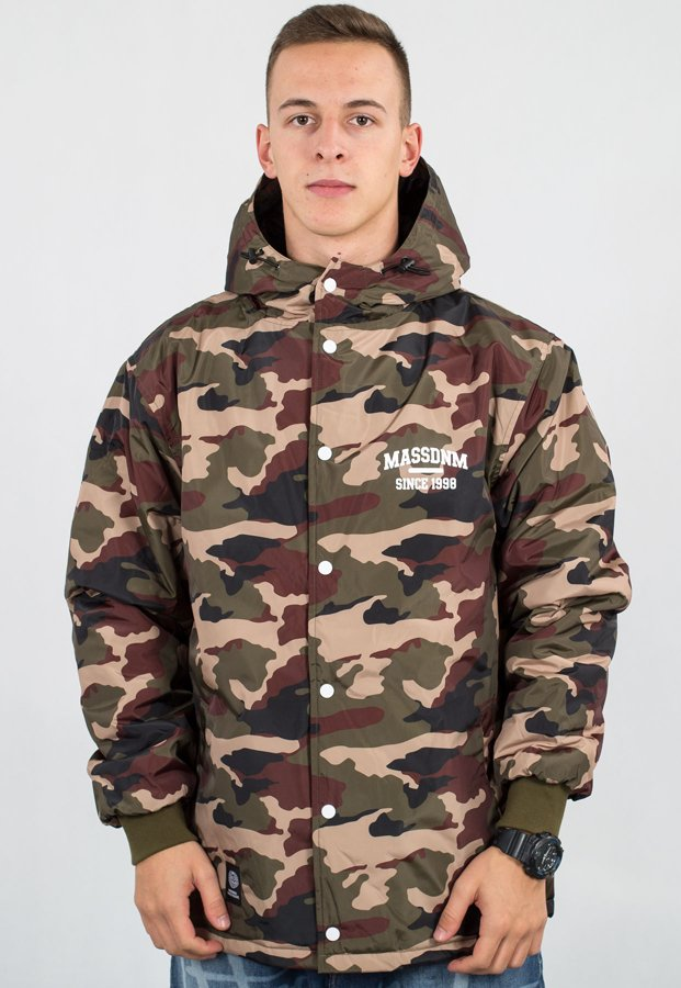 Kurtka Mass Campus woodland camo