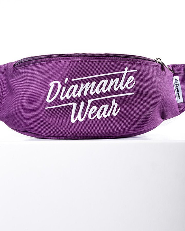 Nerka Diamante Wear Diamante Logo Big fioletowa