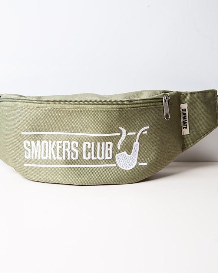 Nerka Diamante Wear Smokers Club oliwka