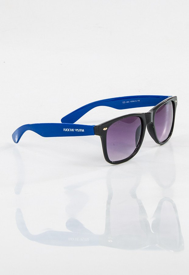 Okulary Blocx Black X Blue 16