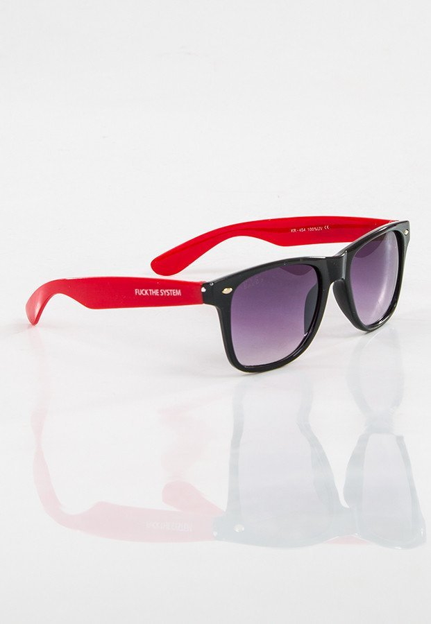 Okulary Blocx Black X Red 15
