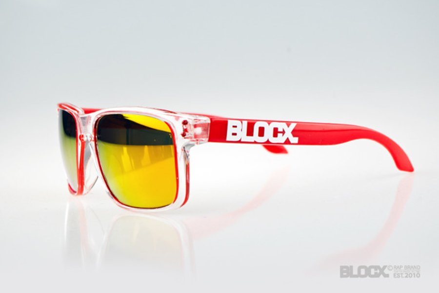 Okulary Blocx Freestyle Clear x Red 57