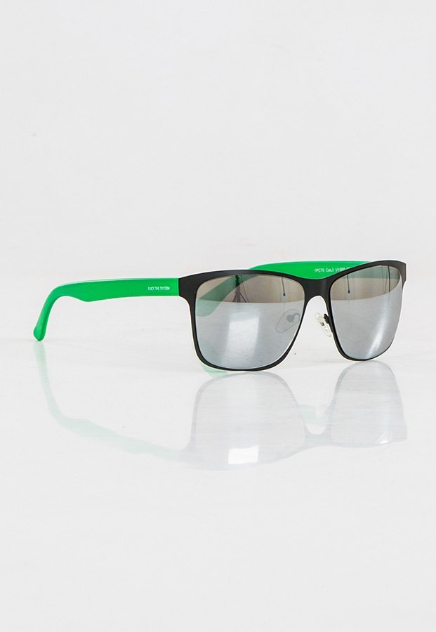 Okulary Blocx New Age Black x Green Mirror Silver 79