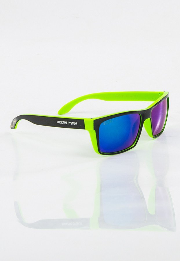 Okulary Blocx Slim X Green Mirror 12