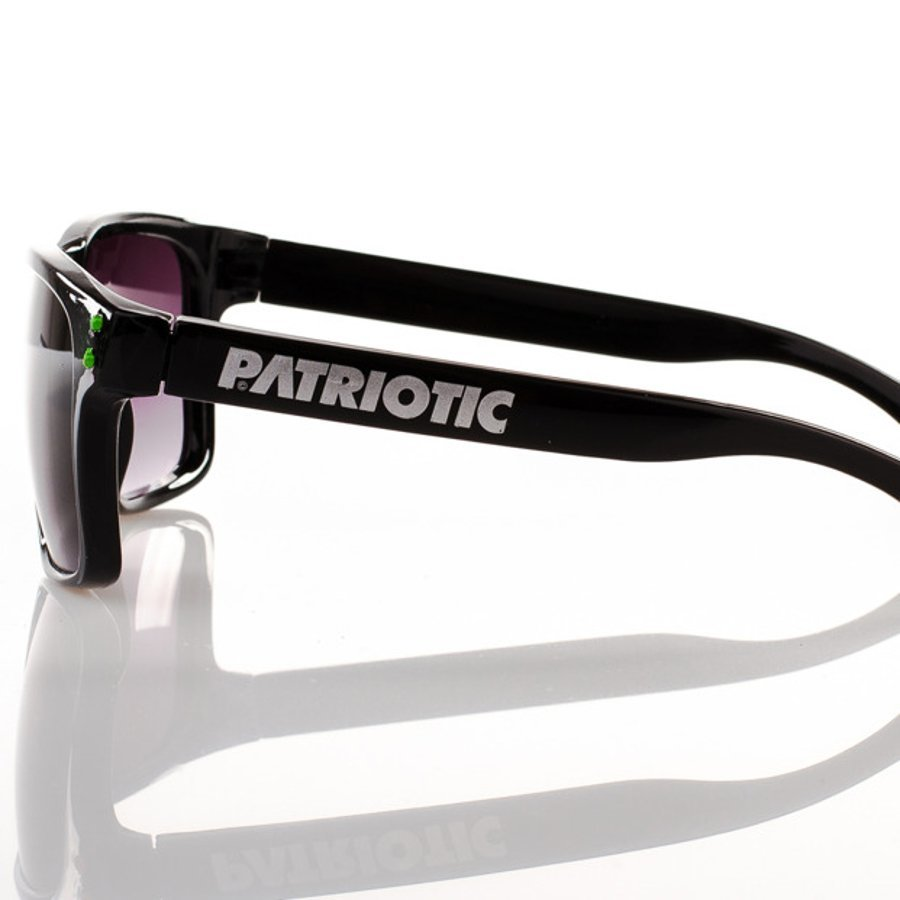 Okulary Patriotic Freestyle Black Blue Point 1144
