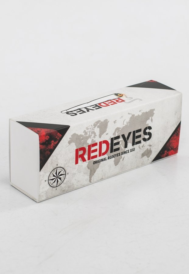 Okulary Red Eyes King Czarny Mat K809Z + Opaska Gratis