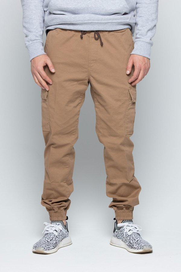 Spodnie Diamante Wear Jogger Unisex RM Hunter brązowe