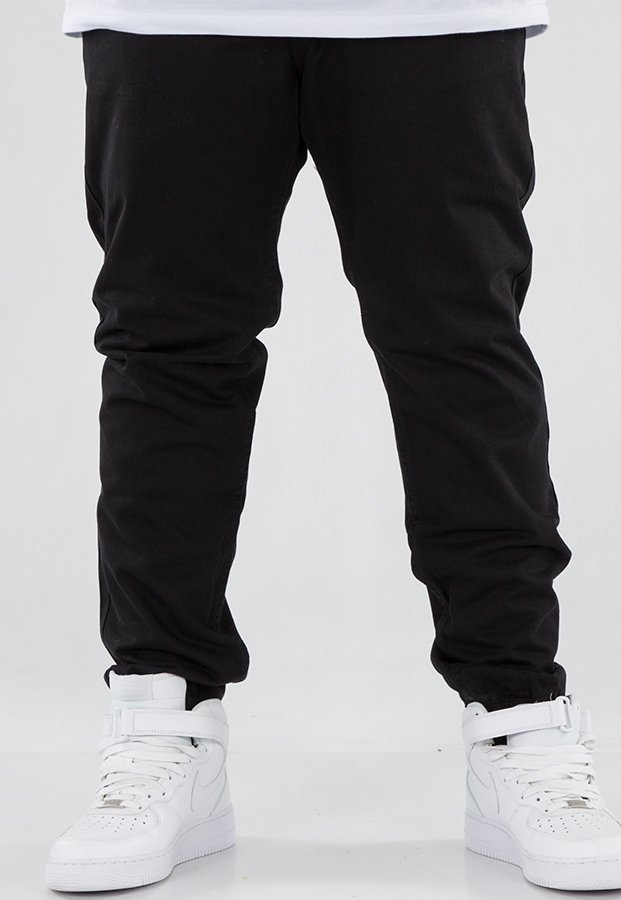 Spodnie Mass Jogger Base Sneaker Fit black