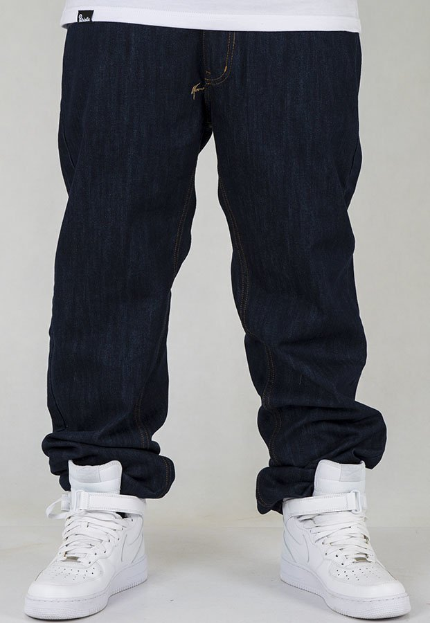 Spodnie Moro Sport Regular Label dark blue