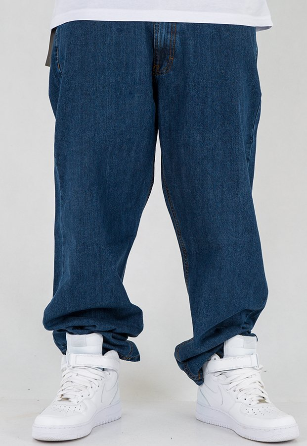 Spodnie SSG City Baggy medium blue