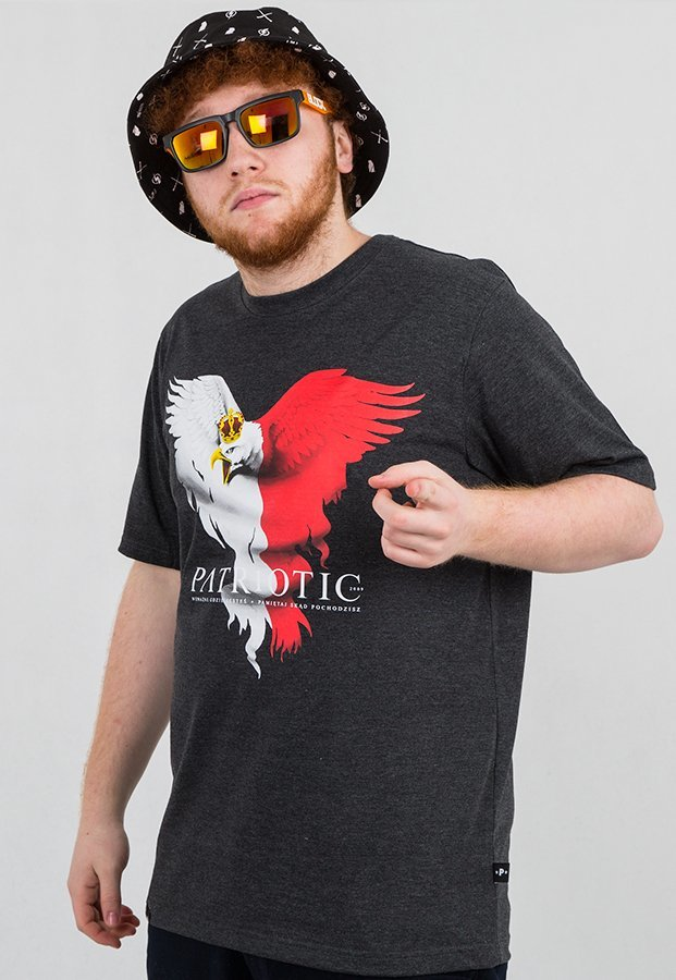 T-shirt Patriotic Eagle New grafitowy