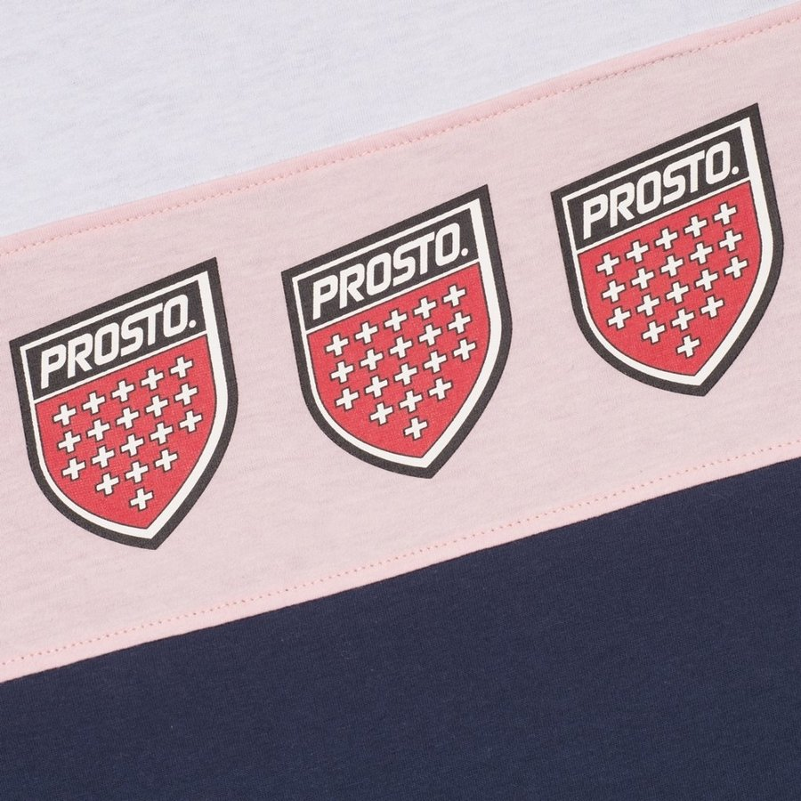 T-shirt Prosto Club granatowy OUTLET