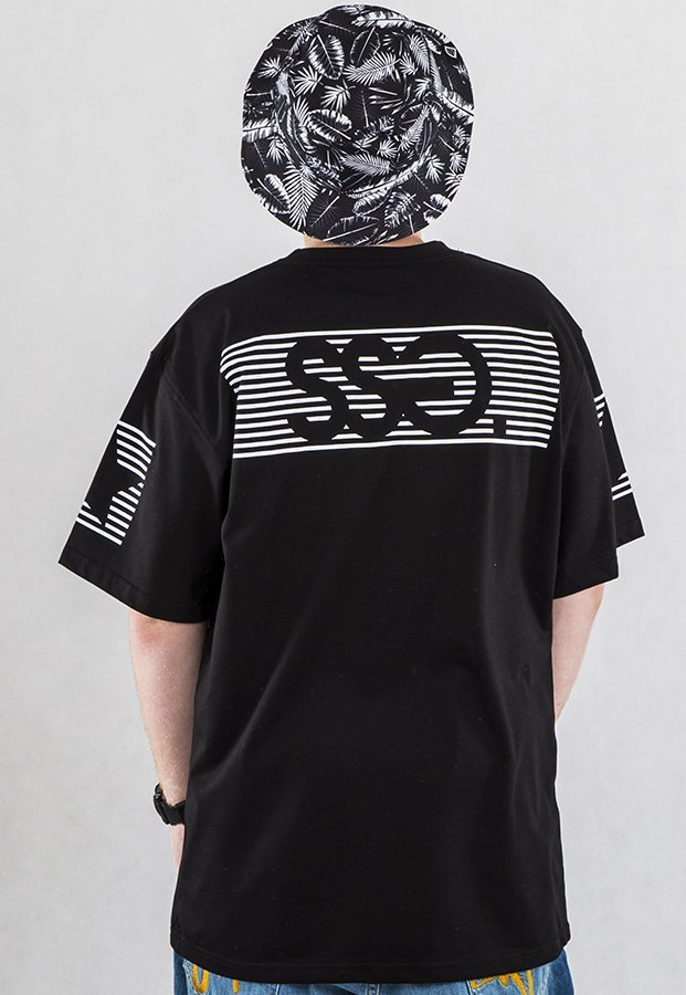 T-shirt SSG S-Stripes czarny