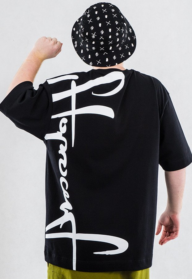 T-shirt Stoprocent Backvert czarny