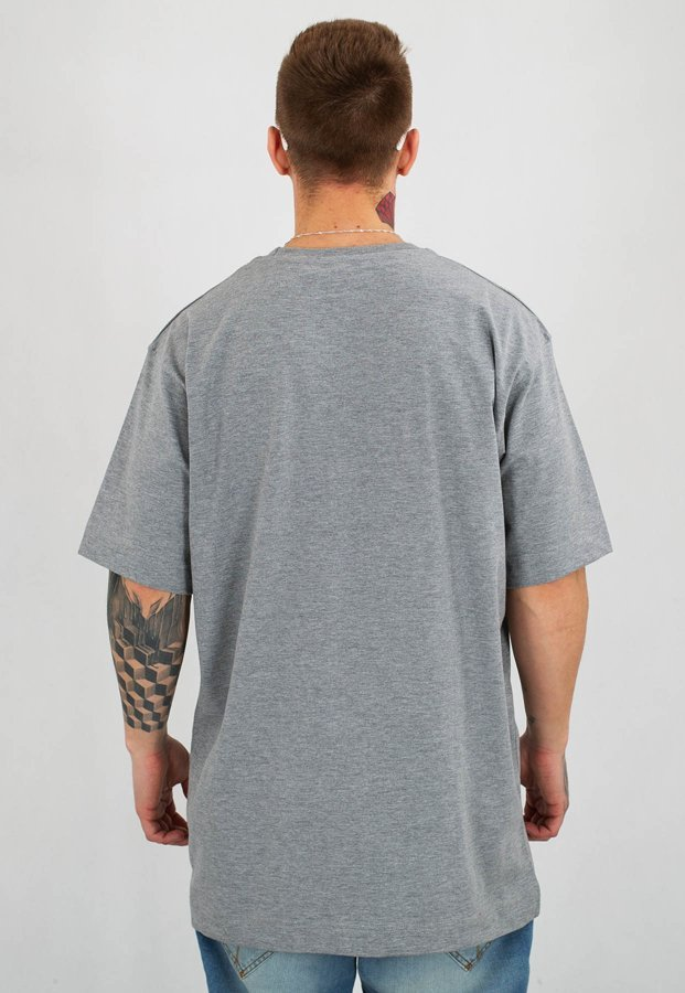 T-shirt Stoprocent Baggy Simple 19 szary