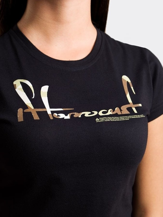 T-shirt Stoprocent Cuttag czarny