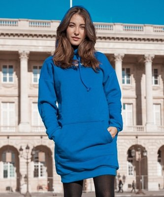 Bluza ATR Wear Dress niebieska