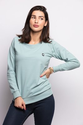 Bluza Diamante Wear Basic brudna mięta