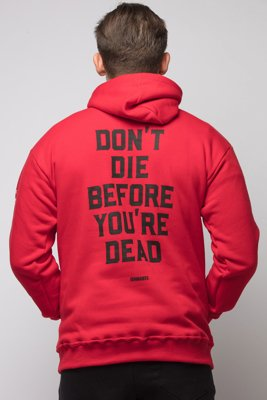 Bluza Diamante Wear Don't Die czerwona
