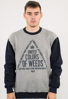Bluza Equalizer United Colors Of Weeds szaro granatowa