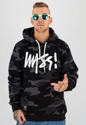 Bluza Mass Signature black camo