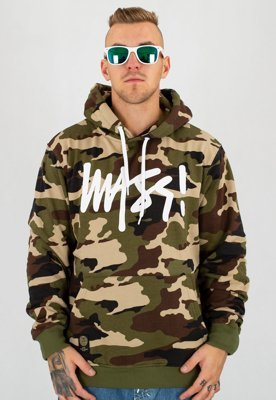 Bluza Mass Signature woodland camo