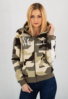 Bluza Stoprocent Zip Tape camo