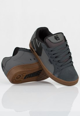 Buty Etnies Fader Dark Grey Black Gold