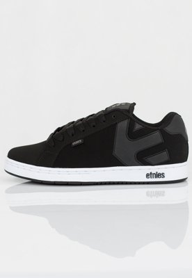 Buty Etnies Fader black white silver