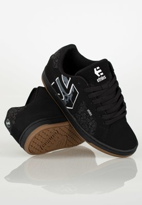 Buty Etnies Metal Mulisha Fader 2 Black Grey White