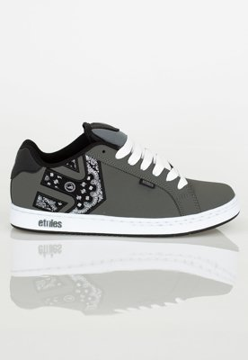 Buty Etnies Metal Mulisha Fader Dark Grey Black White