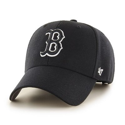 Czapka 47 Brand MLB Boston Red Sox '47 MVP Snapback czarna