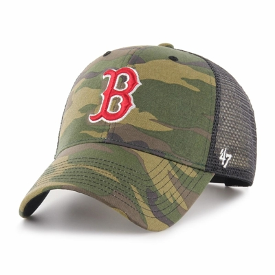 Czapka 47 Brand MLB Boston Red Sox Camo Branson '47 MVP camo