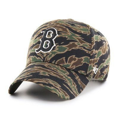 Czapka 47 Brand MLB Boston Red Sox Drop Zone '47 MVP camo B-DRZMV02PTP-E1