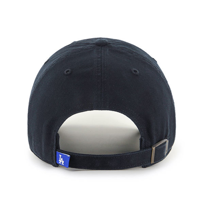 Czapka 47 Brand MLB Los Angeles Dodgers '47 CLEAN UP czarna