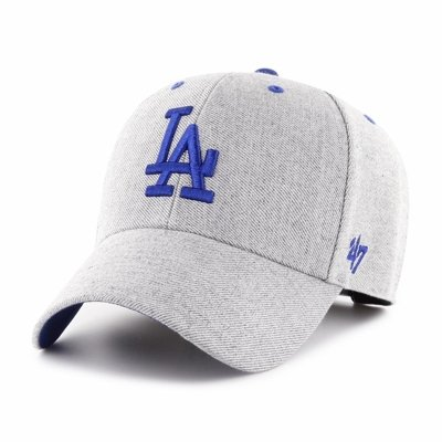 Czapka 47 Brand MLB Los Angeles Dodgers Storm Cloud '47 MVP szara