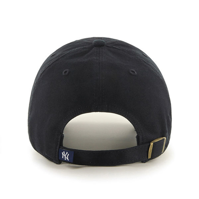 Czapka 47 Brand MLB New York Yankees '47 CLEAN UP czarna