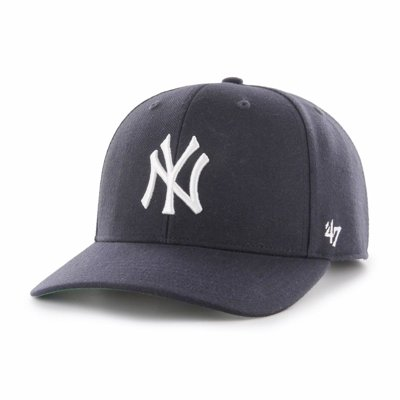 Czapka 47 Brand MLB New York Yankees Cold Zone '47 MVP DP granatowa