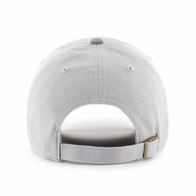 Czapka 47 Brand MLB New York Yankees Two Tone Two Tone '47 CLEAN UP szara