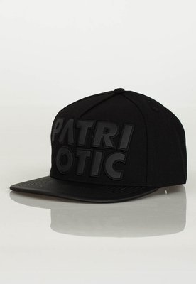 Czapka Snapback Patriotic CLS Leather czarna
