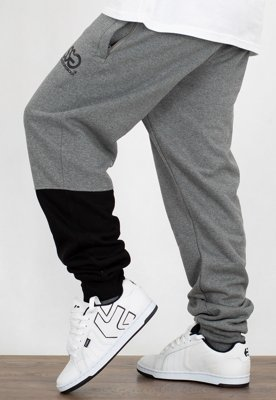 Dresy SSG Joggery Slim One Side Small Big ciemno szare