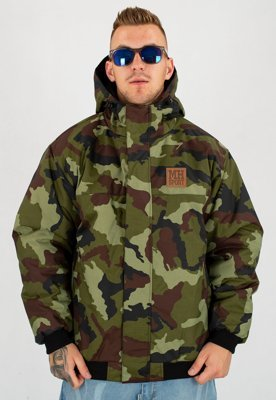 Kurtka Zimowa Metoda Qulited Big green camo