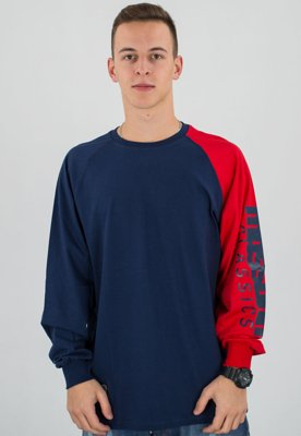 Longsleeve Mass Section granatowy