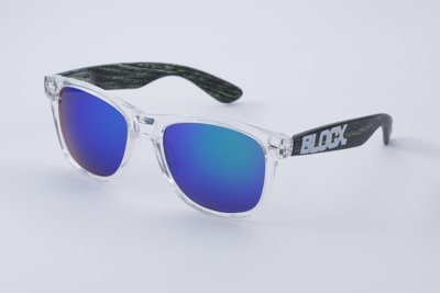 Okulary Blocx Black x Wood P34 318