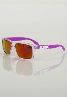 Okulary Blocx Clear 134 fioletowe