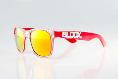 Okulary Blocx Clear x Red 2014 48