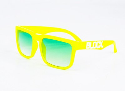 Okulary Blocx Square Neon Yellow