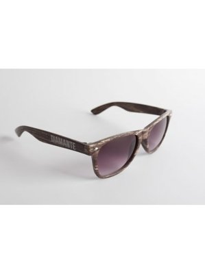 Okulary Diamante Wear Woody brązowe