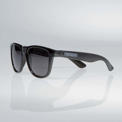 Okulary Mass John transparent black